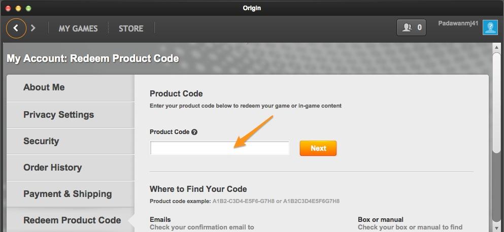 How To Redeem Origin Keys – Support